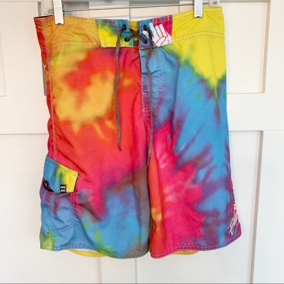 2567e331f3 Billabong Swim | Recycler Series Rainbow Board Shorts | Poshmark